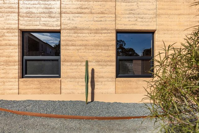 Rammed Earth Home
