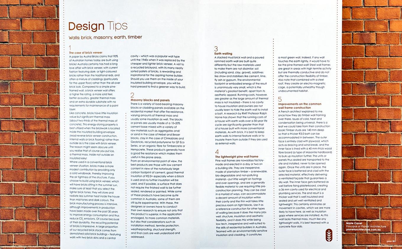 magazine spread from original article